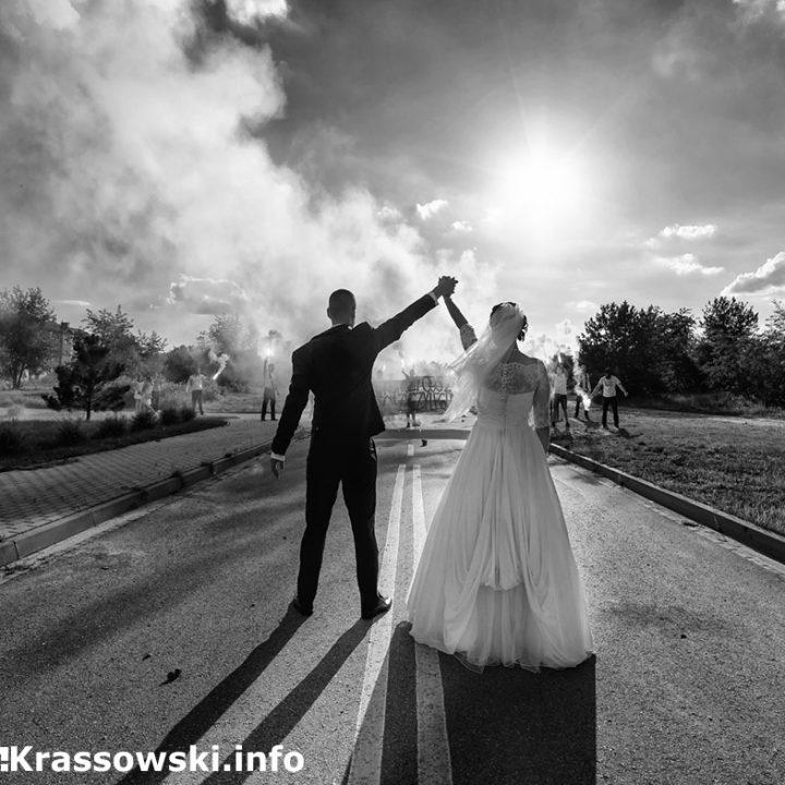Magdalena i Krzysztof - reportaż ślubny