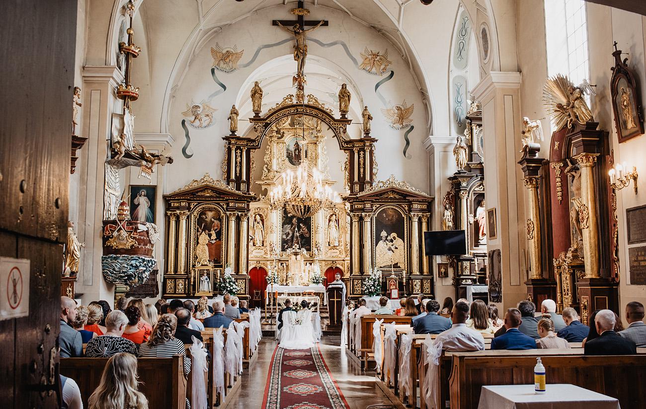 Ślub Piotrkowice Sanktuarium Matki Bożej Loretańskiej 11