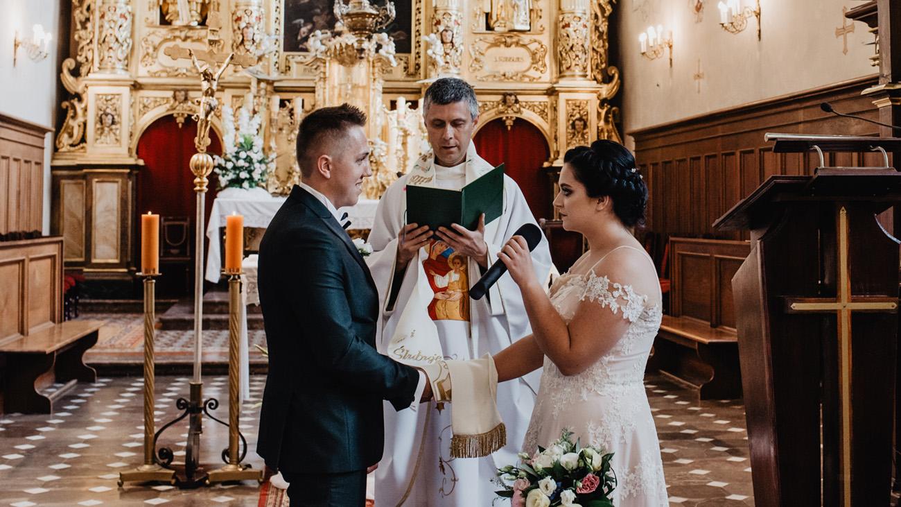 Ślub Piotrkowice Sanktuarium Matki Bożej Loretańskiej 15