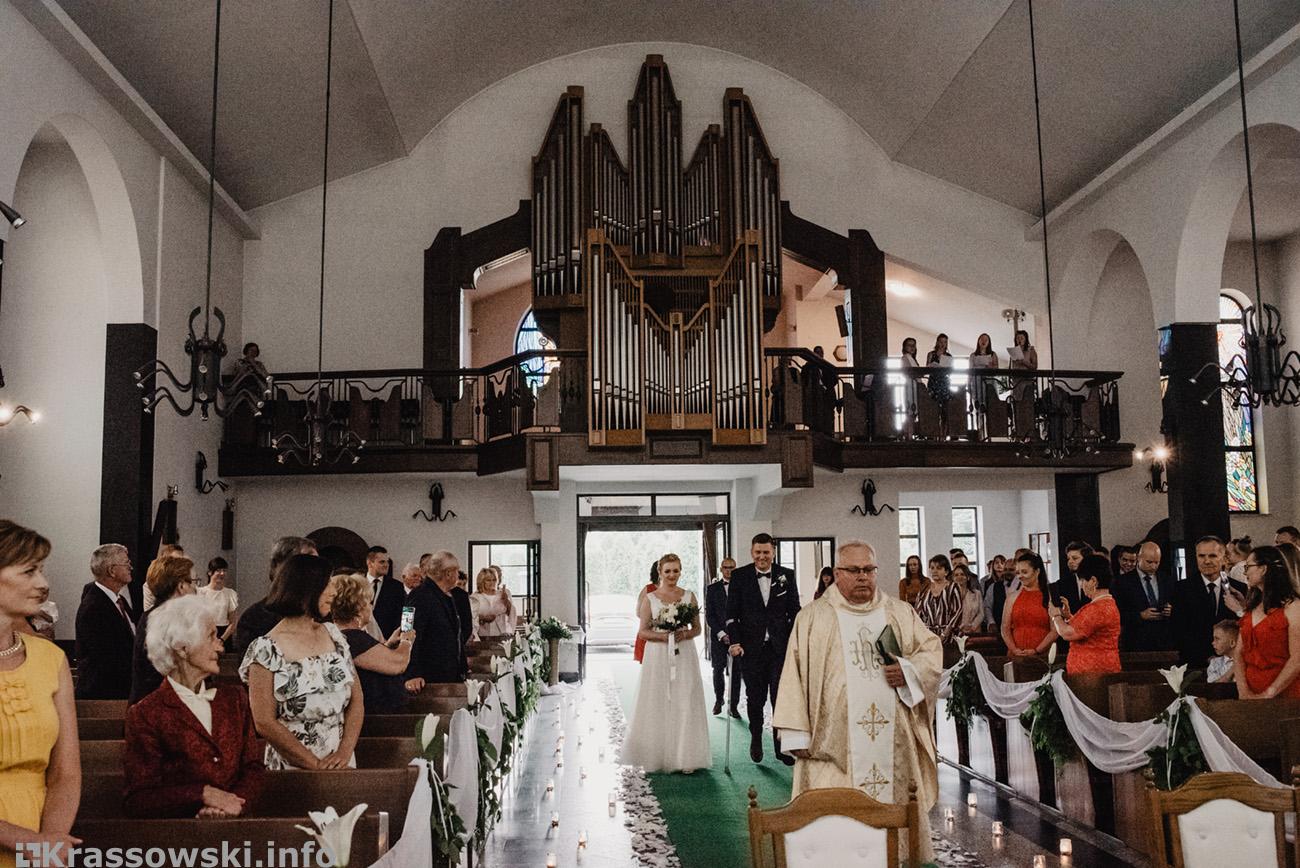 Fotograf ślubny Kielce ślub kościół