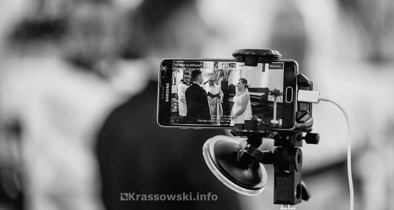 Fotograf ślubny Kielce ślub kościół przysięga